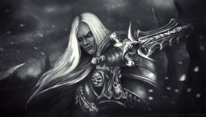 Lich King by d1sarmon1a