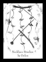 Necklace Brushes by DelenStock