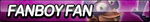 Fanboy Fan Button by ButtonsMaker