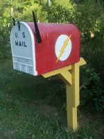 The Flash Mail Box by friesianloverl2K