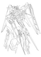 Gundam SEED A-STAR - TSX-02R GARLAND  BST Pack by csy5150