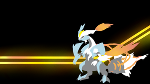 . Pokemon Wallpapers . White Kyurem . by Flows-Backgrounds