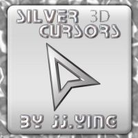 Silver Cursors 3D by JJ-Ying