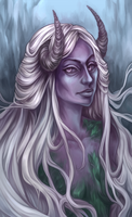 Art trade - Lady Ophelia by Rose333