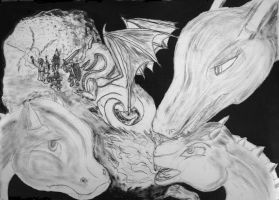 Leave us dragons alone! (WIP) by MauricioKanno