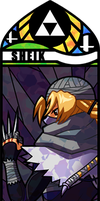 Smash Bros - Sheik by Quas-quas