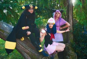 Pokemon Cosplay Team by Tanpopo89