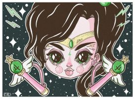 Sailor Jupiter by l0ll3