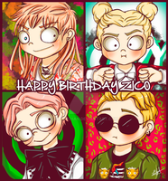 Happy Birthday Zico (Zico Zico Nii) by Eilyn-Chan