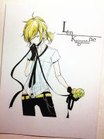 Len Kagamine (Just a Game ver.) by Enolay
