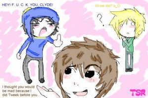 Clyde_Craig_Tweek_Lol by TehShmexyRamen