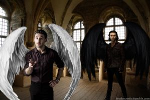 Angels - Dean and Aidan by Drage3000