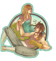Harvest Moon: Claire x Cliff by roolph