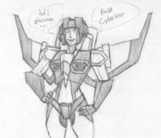 Starscream by Apricots-from-Nara