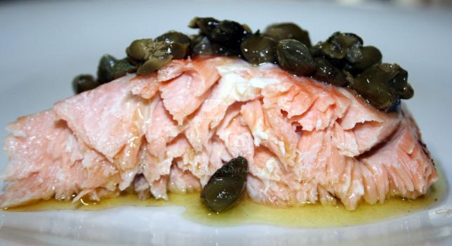 salmon with capers by duww