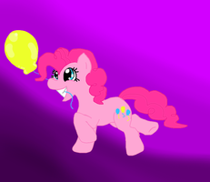 Pinkiepie's Balloon by flamingkitty900