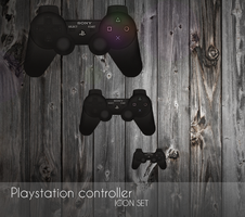Playstation controller icon by OtherPlanet