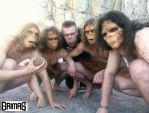 4 apes and Ari Savonen. by NSFF