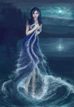 Lady of the lake by Acaciacat