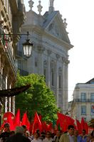 red flags and the Church by Pippa-pppx