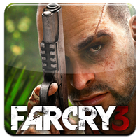 FarCry 3 HQ DOCK ICON with Logo PNG by Djblackpearl
