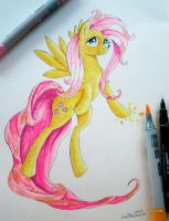 Sweet Sweet Fluttershy by Gusteaureeze