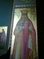 Wall painting in church 2 by HippieCase