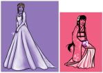 Wedding Dresses by EllenorMererid