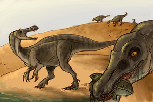 64. Dinosaur by CrazyRatty
