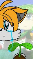 Tails Cries For Cosmo by Cazemon