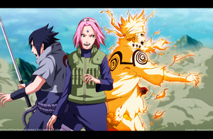 Naruto 632 Team 7 Is Ready by IITheYahikoDarkII
