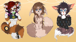 Waist-up commissions - batch 2 by heartXsurgery