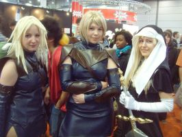 Miria, Clare and Latea Cosplay by acaedes