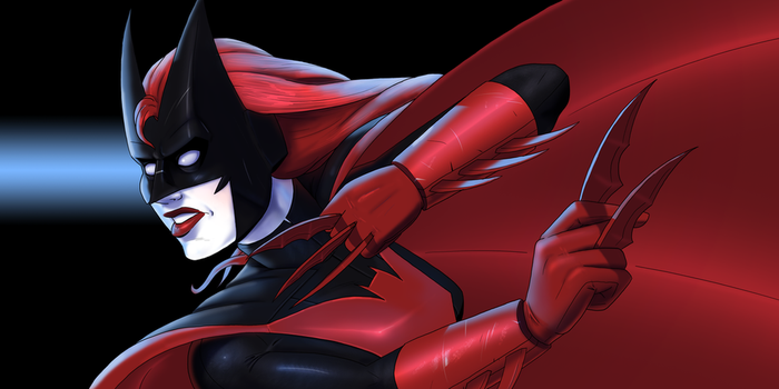 Batwoman Practice by Cadhla182