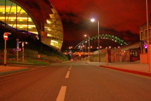 HDR Tyne Bridge n Sage by N1ghtf4ll3r
