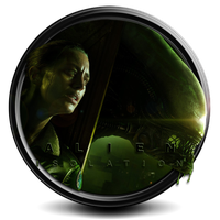 Alien: Isolation icon S7 by SidySeven