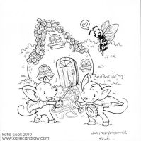 mouse guard b-day card by katiecandraw