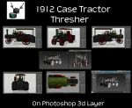 1912 Case Thresher Tractor 3840x2160 by ArthurRamsey