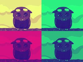 Fun Owl Art for Kids by StageTechy1991
