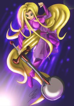 Rapunzel (Action Pose) by Scionjeshua