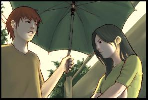 Umbrella Man by dontmockmei