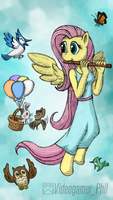My Little Anthro: Fluttershy is Kind by Videogamer-Phil