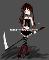 Black n Red by night-fell