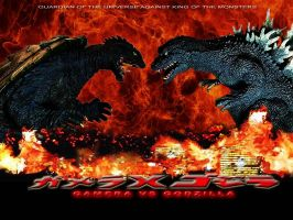 Gamera VS Godzilla (Coming Soon) by rumper1
