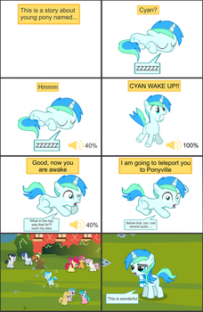 Cyan's Adventure - 01 by CyanLightning