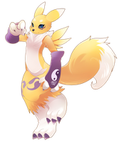 Renamon by phation