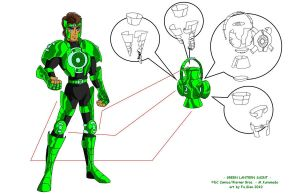 Green Lantern SAINT by FaGian