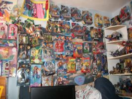 Toys on the Wall by bluebellangel19smj