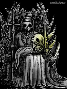 [Mother Death] by NecroxDesigner