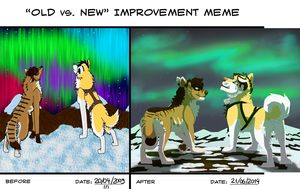Old Vs New Improvment Meme 8 by Mikaces